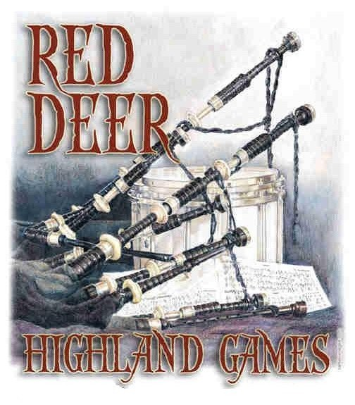 Red Deer Highland Games logo